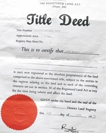 title-deed-of-property